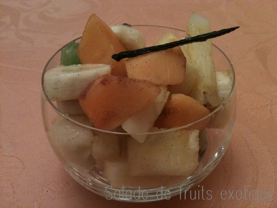 salade de fruits exotique
