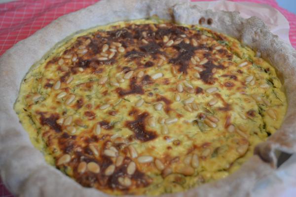 Tarte artichauts, parmesan & roquette 2