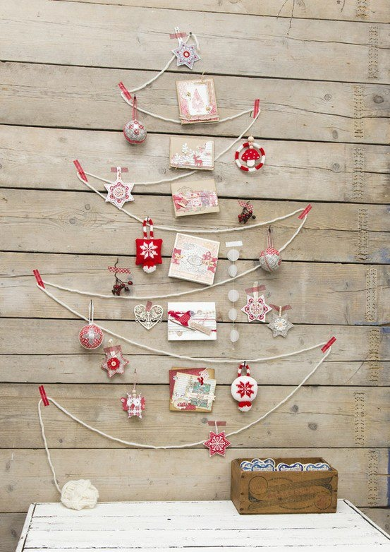 sapin DIY - Pinterest