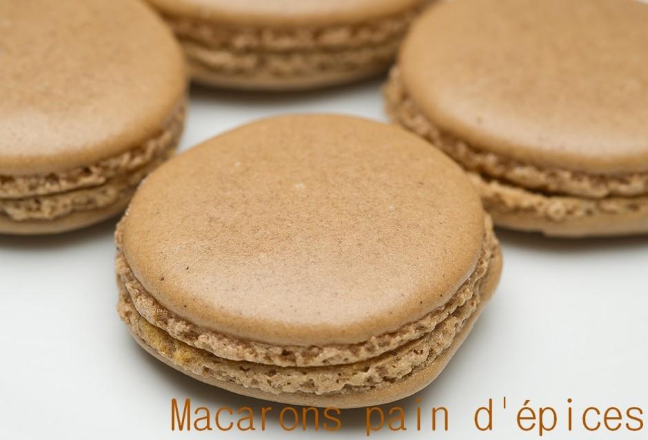 macarons pain d'épices 2