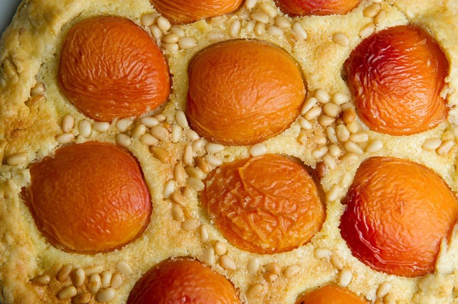 Galette abricots
