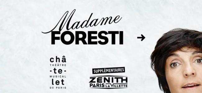 Madame Foresti - théâtre du Châtelet Paris