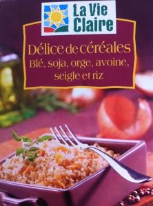 Délice de céréales - La Vie Claire (blé, soja, orge, avoine, seigle, riz)