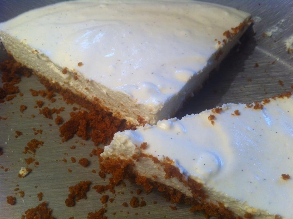 délicieux cheesecake (sans cuisson)